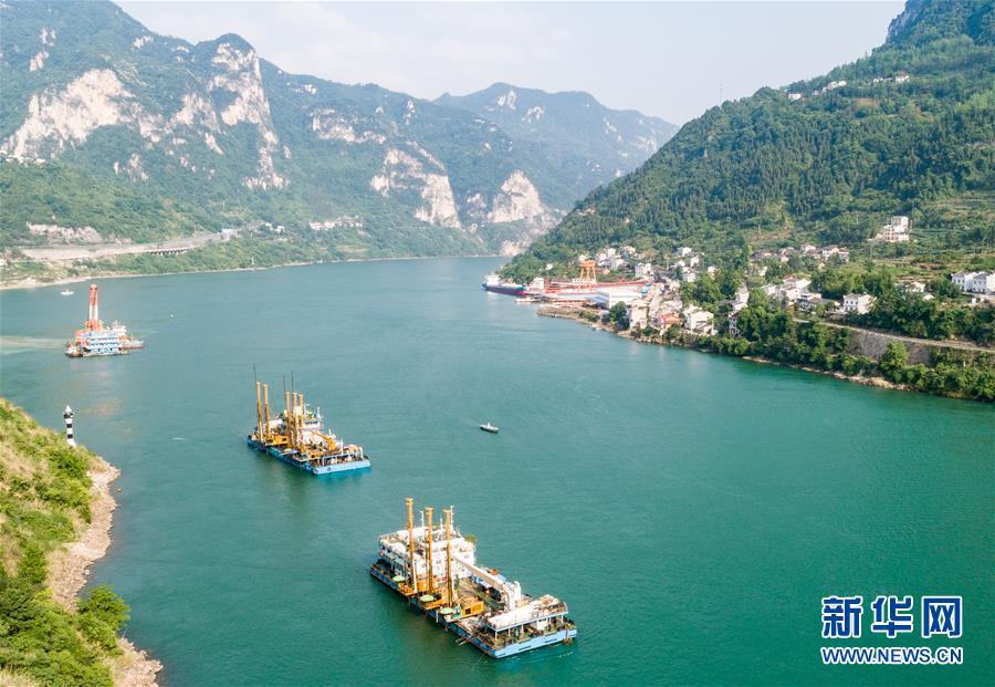 #(环境)(3)三峡两坝间航道治理加紧施工