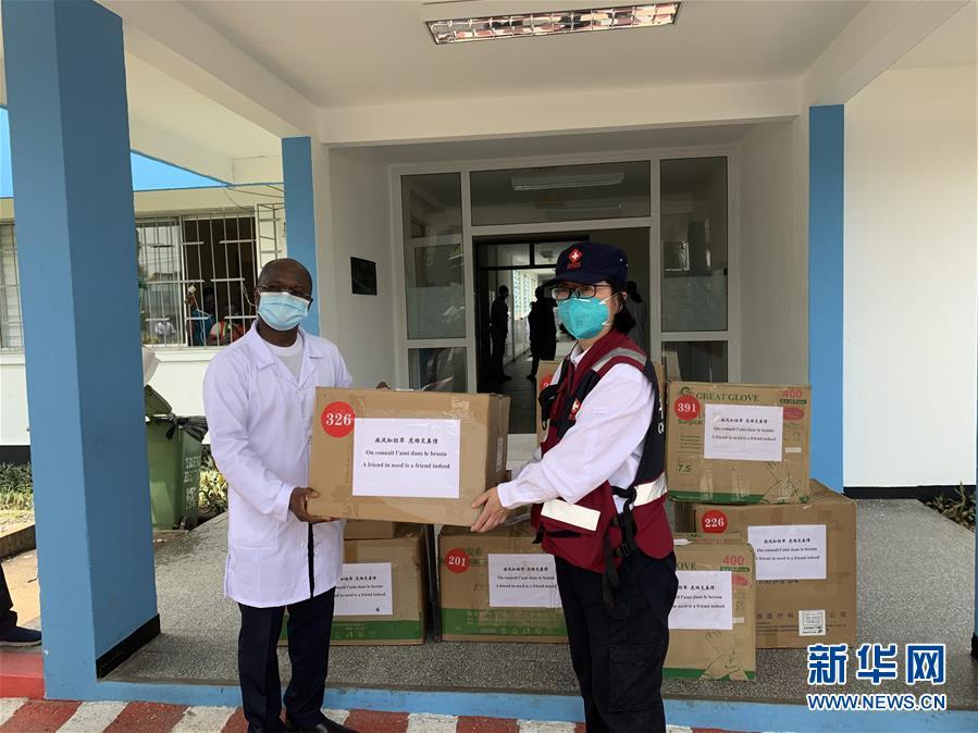 (國際疫情)(2)中國抗疫醫療專家組考察科特迪瓦新冠患者定點收治醫院