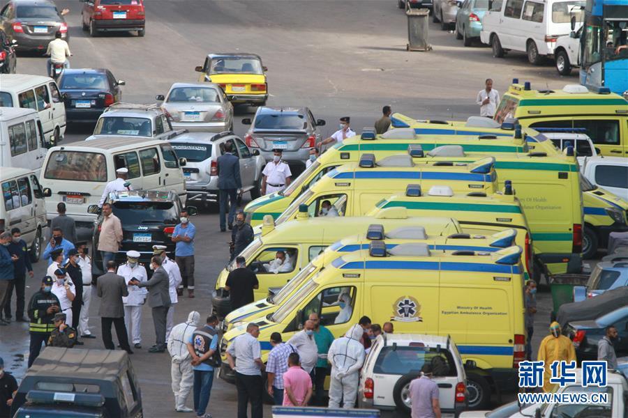 (国际)(2)埃及一家私立医院发生火灾致7人死亡