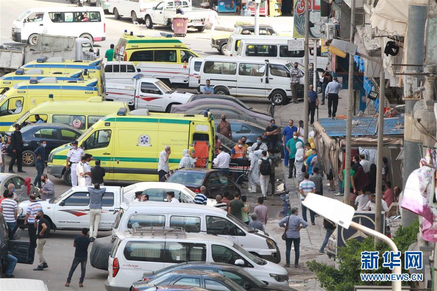 (国际)(5)埃及一家私立医院发生火灾致7人死亡