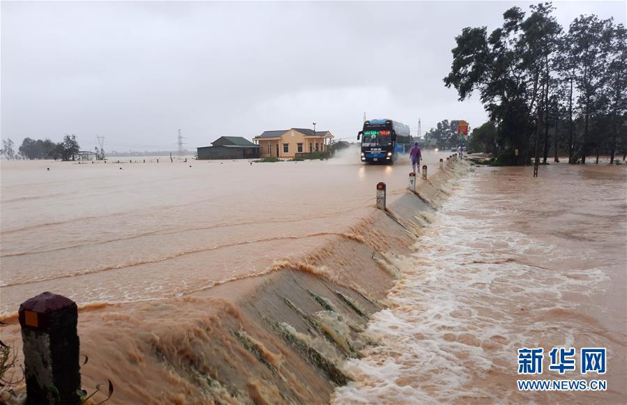 (国际)(2)越南北部和中部等地暴雨和台风致62人死亡