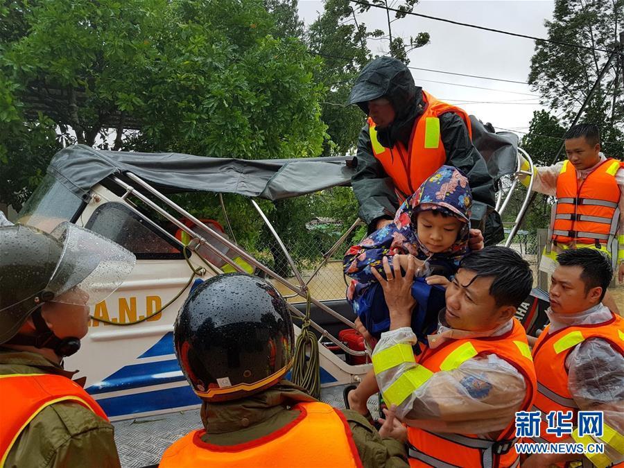 (国际)(3)越南北部和中部等地暴雨和台风致62人死亡