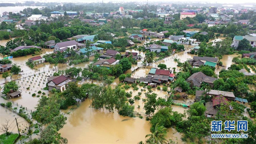 (国际)(1)越南北部和中部等地暴雨和台风致62人死亡