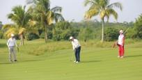 全国业余高尔夫超级联赛总决赛今开赛 海南蜈支洲岛精英队暂时领先