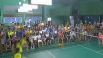 """""""海广杯""""羽毛球赛落幕 职业选手奉献精彩比赛"""