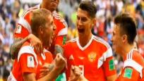 """世界杯话题:致敬""""战斗民族""""你们可以昂首离开!"""