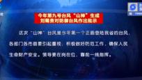 """今年第九号台风""""山神""""生成 刘赐贵 沈晓明对防御台风作出批示"""