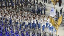 亚运开幕式朝韩再度携手亮相引发欢呼