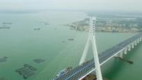 鋪前大橋提前建成通車  正式命名為海文大橋