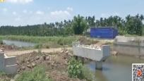 一座桥修了近两年! 村民出行诸多不便