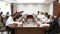 海南省与中国海油集团座谈会举行  刘赐贵 汪东进讲话