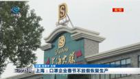 上海:口罩企业春节不放假恢复生产