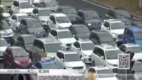 路面汽车就地停车 司机自发鸣笛默哀