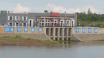 走向我们的小康生活 南渡江引水工程海口龙塘右泵站试通水 将有效缓解海南东线用水紧张