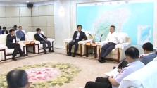 沈晓明会见香港媒体高层海南访问团