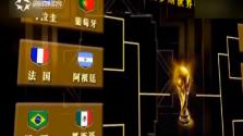 世界杯赛事:淘汰赛精彩预定 看谁能杀出重围