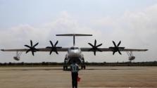 """""""鯤龍""""AG600成功完成水上首飛任務返回珠海"""