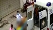 醉酒男子踹坏电梯跌落电梯井 被困12小时后获救