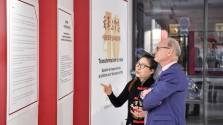 """""""变革与梦想——中国改革开放40年""""图片展在巴黎举行"""