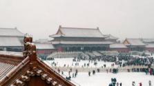"""我国中东部天气现""""北雪南雨"""" 北京将迎入冬来最强降雪"""