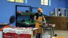政府储备冻猪肉8月28日投放市场 海口市多家菜篮?#29992;?#24215;有售