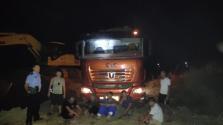 昌江查获非法盗取河沙团伙 5人被拘