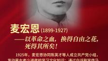 奋斗百年路 英烈铸忠魂(13)|麦宏恩:以革命之血,换得自由之花,死得其所矣!