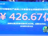 冬交会速递:海南农产品网上交易揽金426.67亿元   创历史新高