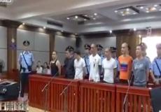 海口中院公开宣判涉恶案件 3案16人因寻衅滋事罪获刑