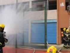 【追梦火焰蓝】仅有一个篮球场训练,这支消防队如何守卫武汉最繁华地带