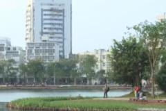 """在习近平新时代中国特色社会主义思想指引下 新时代 新气象 新作为:海口 生态修复东西湖 延续""""城市记忆"""""""