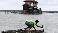 """台风""""启德""""登陆菲律宾 50余人死亡或失踪"""