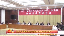 海南代表团昨天审议国务院机构改革方案