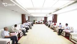海南省与光大集团举行工作会谈 刘赐贵会前会见 沈晓明出席会谈