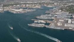 """美国海军草拟""""临时""""方案 预计安置2.5万名移民"""