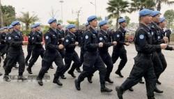 砺剑西非护和平——访中国第五支赴利比里亚维和警察防暴队