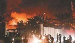 伊拉克南部连日爆发示威 伊朗领事馆遭冲击