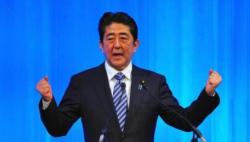 """安倍""""三连庄""""连任自民党总裁 最长或执政到2021年"""