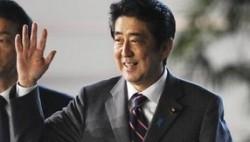 安倍连任党首 宣布将在卸任前修改和平宪法