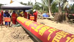海南环岛天然气管网东部管线焊接施工全面展开 2020年底全线贯通投产
