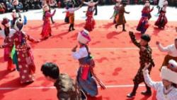 """百年藏庄塔加的春节""""庆典"""""""