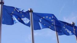 """英国:临近""""脱欧"""" """"欧盟旗""""大幅减产"""