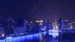 喜闹元宵:无人机灯光秀点亮夜空 超酷炫光影盛宴将上演