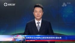 劉賜貴會見中國電力建設集團董事長晏志勇