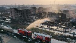 生态环境部?#33322;?#33487;响水爆炸事故污染水体处置方案初步确定