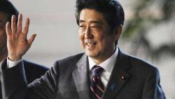 安倍会见韩国驻日大使 对韩日紧张关?#24403;?#36798;担忧