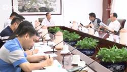 李军主持召开专题会议:做大做强村级集体经济 提升基层党组织战斗力