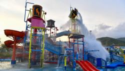 陵水富力海洋歡樂世界麥迪卡斯水樂園舉辦試運營預覽儀式