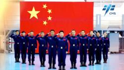 中国空间站来啦!