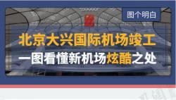 北京大興國際機場竣工 一圖看懂新機場酷炫之處